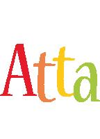 Atta birthday logo