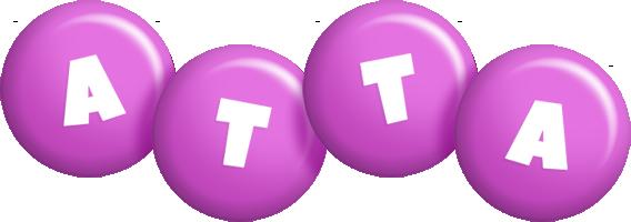 Atta candy-purple logo