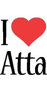 Atta i-love logo