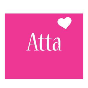 Atta love-heart logo