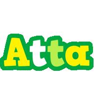 Atta soccer logo