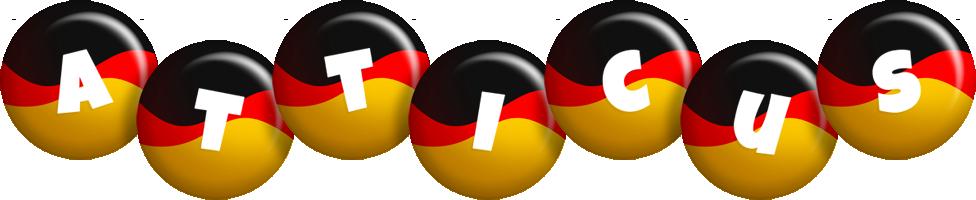 Atticus german logo