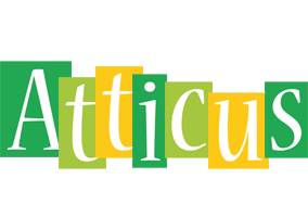 Atticus lemonade logo