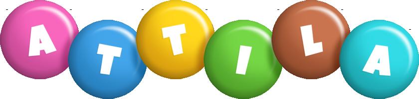 Attila candy logo