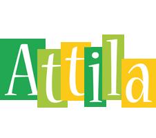 Attila lemonade logo