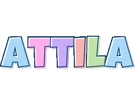Attila pastel logo