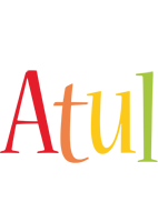 Atul birthday logo