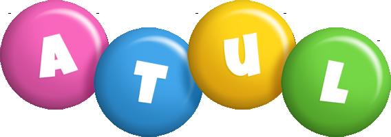 Atul candy logo