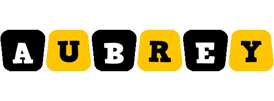 Aubrey boots logo