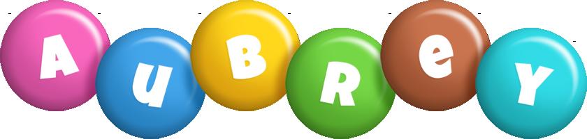 Aubrey candy logo