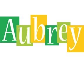 Aubrey lemonade logo
