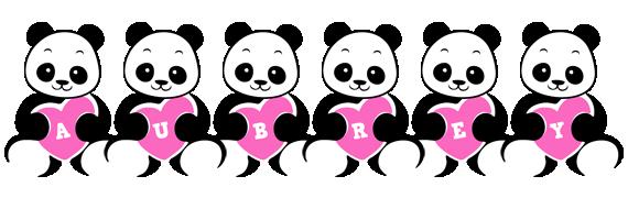 Aubrey love-panda logo