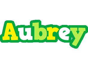 Aubrey soccer logo