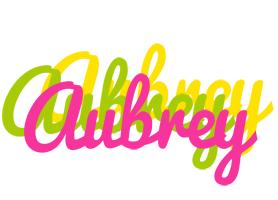 Aubrey sweets logo