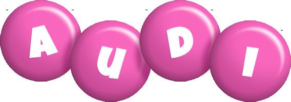 Audi candy-pink logo