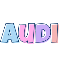 Audi pastel logo