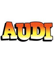 Audi sunset logo