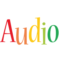 Audio birthday logo