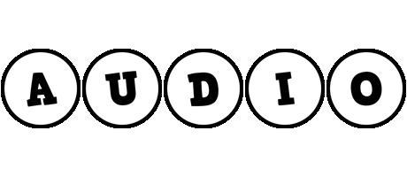 Audio handy logo