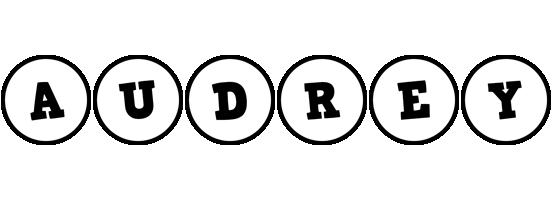 Audrey handy logo