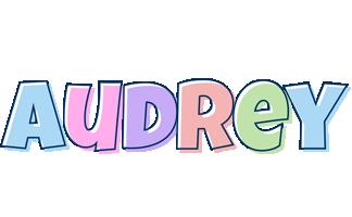 Audrey pastel logo