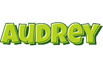 Audrey summer logo