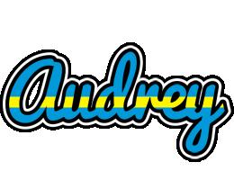 Audrey sweden logo