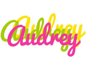 Audrey sweets logo