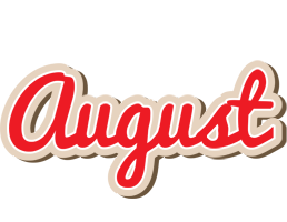 August chocolate logo