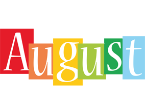 August colors logo