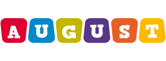 August daycare logo
