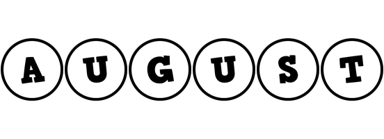 August handy logo