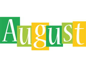 August lemonade logo