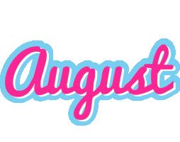 August popstar logo