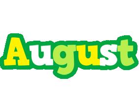 August soccer logo