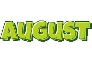 August summer logo