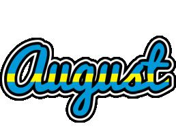 August sweden logo