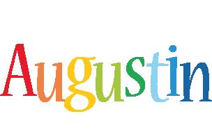 Augustin birthday logo
