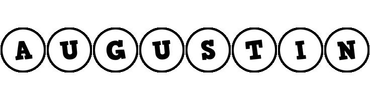 Augustin handy logo