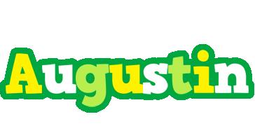 Augustin soccer logo