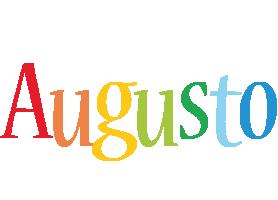 Augusto birthday logo