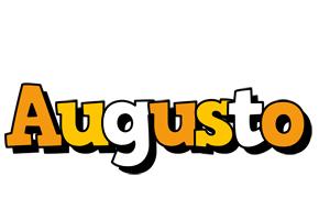 Augusto cartoon logo