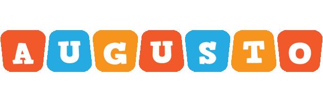 Augusto comics logo
