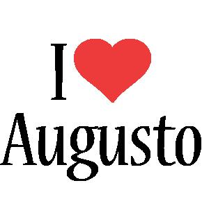 Augusto i-love logo