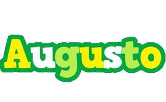 Augusto soccer logo