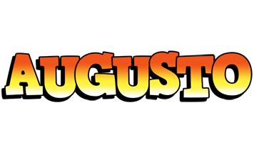 Augusto sunset logo