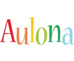 Aulona birthday logo
