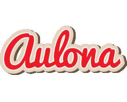 Aulona chocolate logo