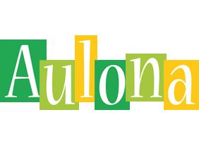 Aulona lemonade logo