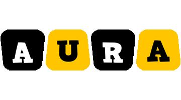 Aura boots logo